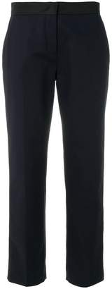 Moncler satin trim trousers