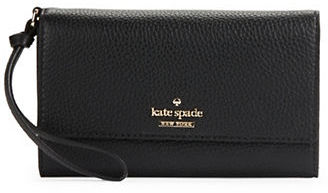 Kate Spade Kate Spade New York Leather Blend Wristlet