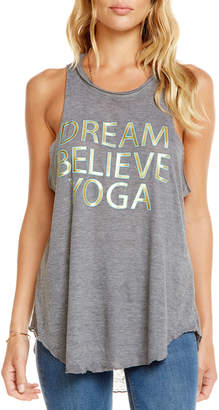 Chaser Dream Believe Yoga Muscle Tee