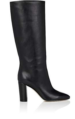 Gianvito Rossi Women's Laura Leather Knee Boots - Black