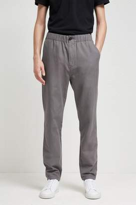 Fcus Relaxed Cotton Linen Drawstring Trousers