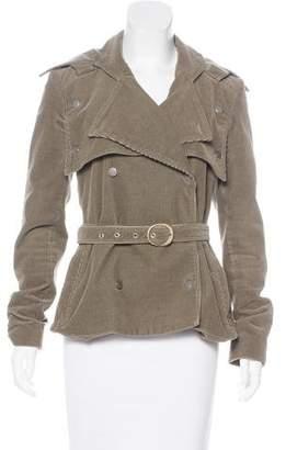 Stella McCartney Double-Breasted Corduroy Coat