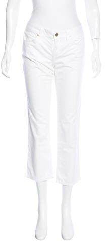 Tory BurchTory Burch Mid-Rise Cropped Jeans
