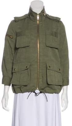 Smythe Long Sleeve Zip-Up Jacket