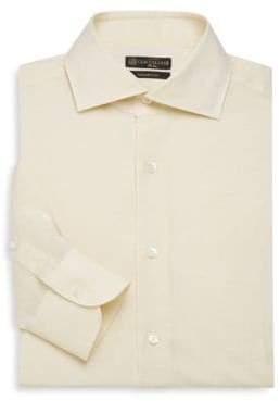 Corneliani Linen Blend Dress Shirt