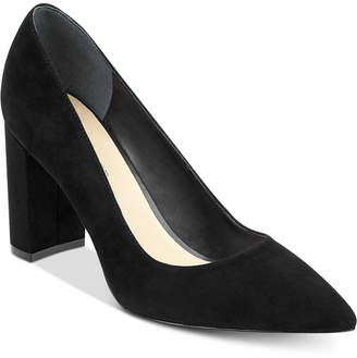 Marc Fisher Viviene Block-Heel Pumps Women's Shoes
