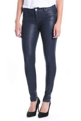 KUT from the Kloth Mia Navy Coated Jeans (Petite)