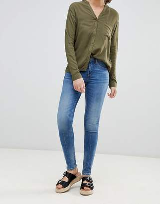 Blend She Bright panelled skinny jeans