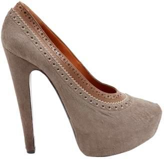 Givenchy Pony-style calfskin heels