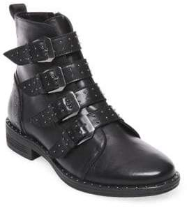 Steve Madden Pursue Leather Ankle Boots