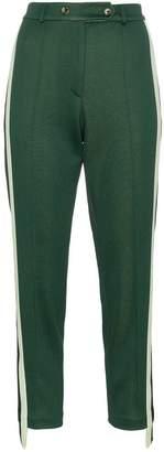Golden Goose Golden side stripe cotton blend track pants