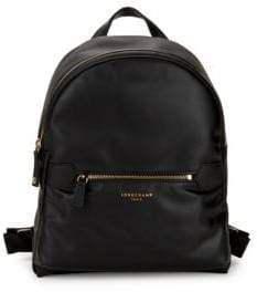Longchamp Small Leather Backpack