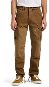 BEIGE RRL Men's Byron Cotton Canvas Cargo Pants - Beige, Tan