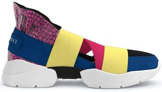 Emilio Pucci City Up custom sneakers