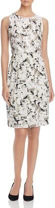 Max Mara Vernice Printed Silk Dress $745 thestylecure.com