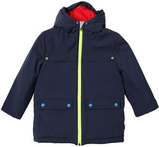 Paul Smith Hooded Waterproof Nylon Coat