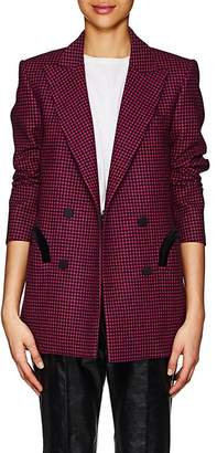BLAZÉ MILANO Women's Everyday Plaid Wool Blazer