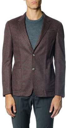 Ermenegildo Zegna Single Breasted Wool Blend Jacket