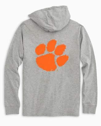 Southern Tide Gameday Skipjack Hoodie T-shirt - Clemson University