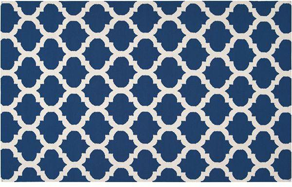 Artisan weaver centralia lattice reversible rug