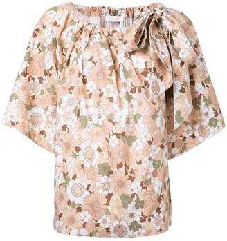 Chloé floral print T-shirt