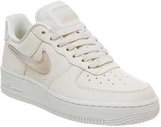 Nike Force 1 07 Trainers Pale Ivory Summit White Guava Ice