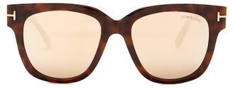 Tom Ford Tracy 53mm Squared Sunglasses