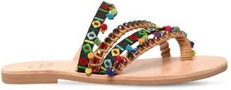 Mabu By Maria Bk 10mm Naida Embellished Sandals