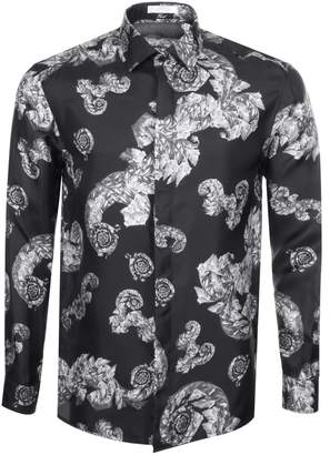 Versace Long Sleeved Shirt Black