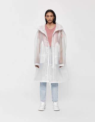 Calvin Klein Jeans Est. 1978 Est. 1978 Logo Parka in Transparent