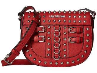Love Moschino Crossbody Bag with Belt Studs