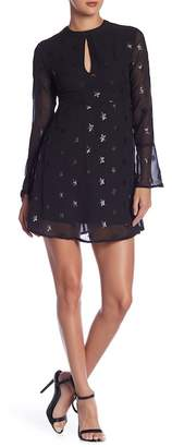 Romeo & Juliet Couture Star Embroidered Long Sleeve Dress
