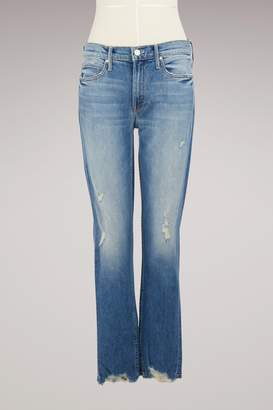 Mother The Flirt Fray Jeans