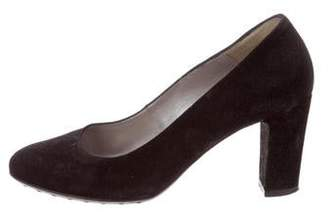 Aquatalia Tinker Suede Pumps