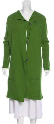 Dries Van Noten Long Wool Cardigan