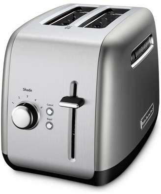 KITCH 2-Slice Toaster With Illuminated Button