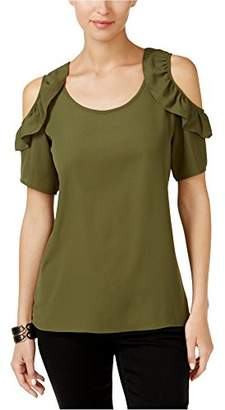 NY Collection Women's Cold Shoulder
