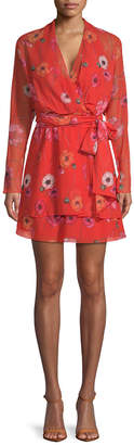 Camilla And Marc Floral Wrap Dress