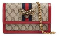 Gucci Queen Margaret Bee GG Wallet