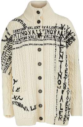 Valentino Embroidered cardigan