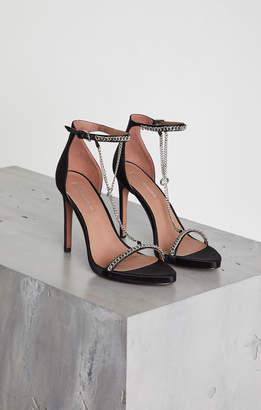 BCBGMAXAZRIA Ella Satin Stiletto Sandal
