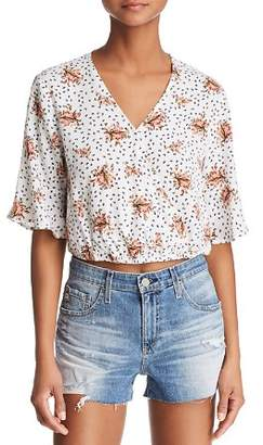 Sage the Label Place In Sun Floral Blouse