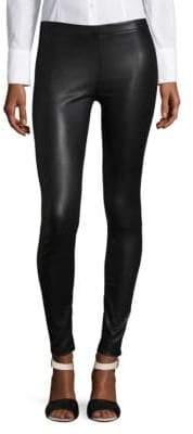 Basic Leather Leggings