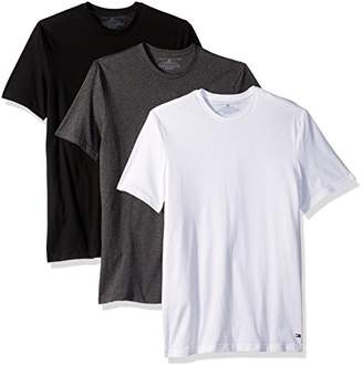 Tommy Hilfiger Men's Undershirts 3 Pack Cotton Classics Crew Neck T-Shirts