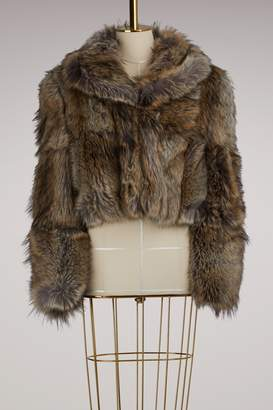 Stella Mccartney Masha faux fur coat