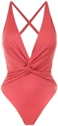 BRIGITTE v-neck swimsuit