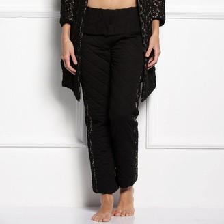 Black Label Doris Quilted Lounge Pants