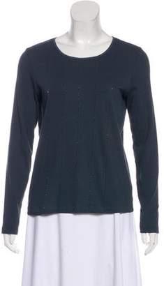 Fabiana Filippi Embellished Long Sleeve T-Shirt