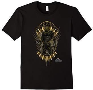 Marvel Panther Movie Killmonger Jaguar Crest T-Shirt