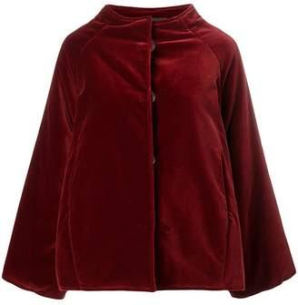 Gianluca Capannolo oversized velvet jacket
